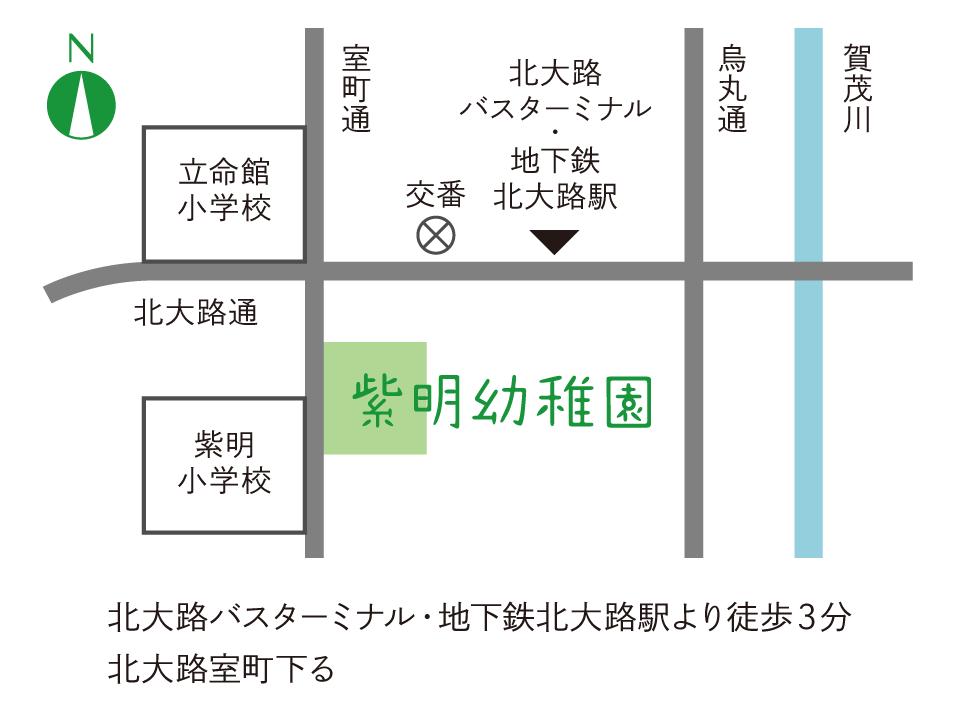 紫明幼稚園地図
